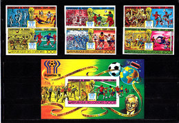 Soccer World Cup 1978 - Footbal - COMORES - S/S+Set Imp. MNH - 1978 – Argentina