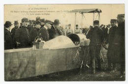 LUNEVILLE - A La Frontière !  Un Biplan Militaire Allemand Atterit à Croismare, Prés De Lunéville (5 Février 1914) - Luneville