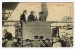 """LUNEVILLE - Le Dirigeable Militaire """" L'Adjudant Vincenot """" , Edition Bastien - Luneville"""