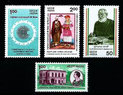 India Nº 787/8-790-793 Nuevo - India