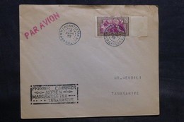 MADAGASCAR - Enveloppe 1 Er Vol Mardantsetra/ Tananarive En 1938 - L 34582 - Madagascar (1889-1960)