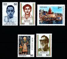 India Nº 774-777/80 Nuevo - India