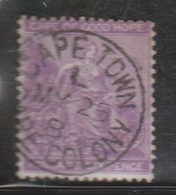 CAPE OF GOOD HOPE Scott # 18 Used - Nice Cancel - South Africa (...-1961)