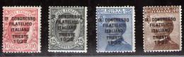 Italia Nº 117/20. Año 1922 - Nuevos