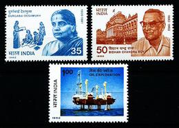 India Nº 708-724-725 Nuevo - India