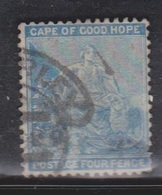 CAPE OF GOOD HOPE Scott # 27 Used - Hope & Symbols Of The Colony - South Africa (...-1961)