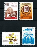 India Nº 579/80-614/15 Nuevo - India