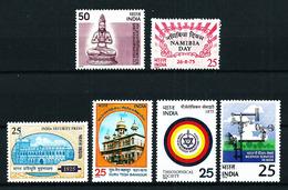 India Nº 440/1-462/5 Nuevo - India