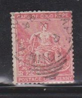 CAPE OF GOOD HOPE Scott # 34 Used - Hope & Symbols Of The Colony Short Perfs - South Africa (...-1961)