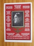 Sonderkarte Zum 50.Geburtstag Des Führers Mit Ereignissen 1933-1939 - Postzegeldozen