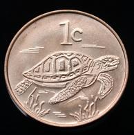 Tokelau 1 Cent 2017. UNC Coin Animal. Turtle - Münzen