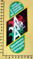 IPPODROMO ARCOVEGGIO BOLOGNA  ADESIVO STICKER  VINTAGE NEW ORIGINAL - Stickers