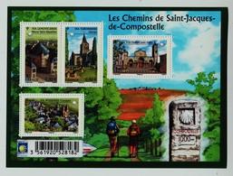 F4725 Les Chemins De St Jacques De Compostelle NEUF ** - France