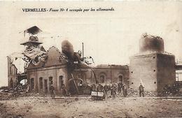 62)  VERMELLES  - Fosse N° 4 Occupée Par Les Allemands - Autres Communes