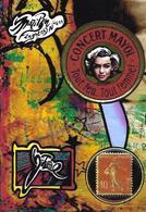 CPM Timbre Monnaie Jihel Tirage Limité En 30 Exemplaires Numérotés Signés Marilyn - Monete (rappresentazioni)