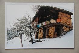 En Montagne Les Ruches Sont Encore Souvent Abritées Dans De Petits Chalets, Photo J.-M.Granger - Insectos