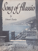 Song Of Alassio Edward Charles 1950s Sheet Music - Manuscripts