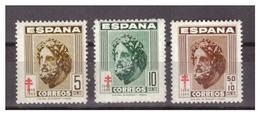 SPAGNA - 1948 - PRO TUBERCOLOTICI. SERIE COMPLETA.  MNH** - 1931-50 Nuovi