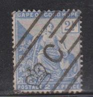 CAPE OF GOOD HOPE Scott # 57 Used - Hope & Symbols - Interesting Cancel - South Africa (...-1961)