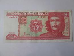 Cuba 3 Pesos 2004 Banknote - Cuba