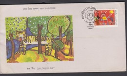 INDIA FDC ART ** - Childhood & Youth
