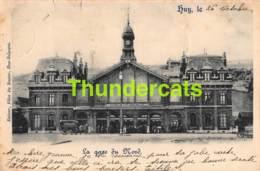 CPA 1899 HUY LA GARE DU NORD ( DECHIRURE ) - Huy