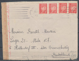 FRANCE - 1943, Lettre  HALLENDORF, Lager 25, Germany - 1921-1960: Modern Period