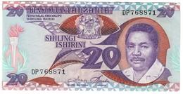 Tanzania 20 Shillings 1987 .J. - Tanzanie