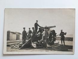Foto AK Kanon Canon Geschutz Blois Foue? Soldaten Soldat Uniform Fort? - Ausrüstung