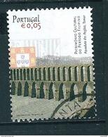 N° 2898 Aqueduc Des Pegoes 0.05 € Timbre Portugal  Oblitéré 2004 - Oblitérés