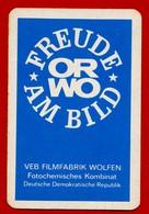 SMALL CALENDAR FREUDE AM BILD ORWO DDR FILMFABRIK 1971 AK104-19 - Calendarios