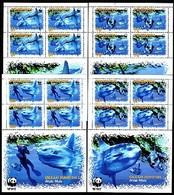 Penrhyn, Sunfish, WWF, 2006 4 Sheetlets - Nuevos