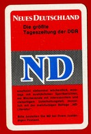 SMALL CALENDAR NEUES DEUTSCHLAND ND 1972 AK104-22 - Calendarios