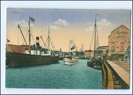 U7698/ Memel  Hafen Schiffe Litauen Ca.1912 - Litauen