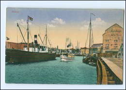 U7698/ Memel  Hafen Schiffe Litauen Ca.1912 - Lituanie