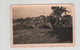 Photo Originale Char Tank à Identifier  1945  DB Allemagne Loup - Guerre, Militaire