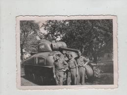 Photo Originale Char Tank à Identifier 1945  DB Allemagne Colmar - Guerre, Militaire