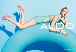 ALDO Advertising Postcad Sexy Girl - Size 15x10 Cm. Aprox. - Publicidad