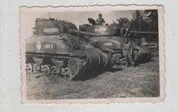 Photo Originale Chars Tanks à Identifier  1945  DB Allemagne Ballersdorf Leopard Aspic IV  Konigsbach - Guerre, Militaire