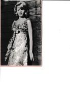 Photo Années 60 - Mannequin Gil Coulomb  Avec Fiche Signalitique - Photographs