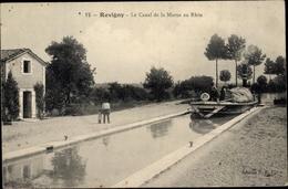 Cp Revigny Meuse, La Canal De La Marne Au Rhin - Other Municipalities