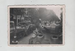 Photo Originale Chars Tanks à Identifier  1945 DB Allemagne - Guerre, Militaire