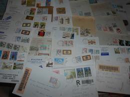 Italie Collection , 37 Lettres Modernes Avec Des Recommandes - Italien
