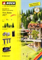 Catalogue NOCH New Items 2017 Model Landscaping Zubehör - Livres Et Magazines