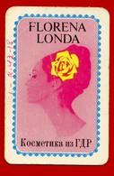 SMALL CALENDAR FLORENA LONDA DDR 1975 AK104-33 - Calendarios