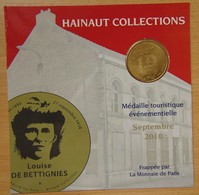 Médaille Touristique  Louise De Bettignies 2010 - Monnaie De Paris