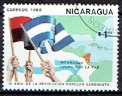 NICARAGUA # FROM 1988 STAMPWORLD 2951 - Nicaragua