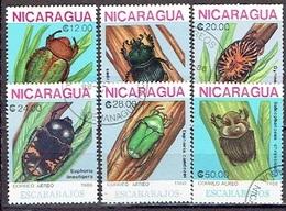 NICARAGUA # FROM 1988 STAMPWORLD 2970-75 - Nicaragua