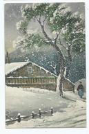 Christmas Postcard Published By Da Costa Londonchristmas Greetings Art De Vienne 303 - Navidad