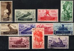 Italia Nº 346/56. Año 1934 - Nuovi